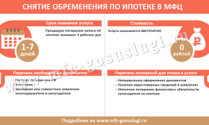 Cнятие обременения по ипотеке в МФЦ, Росреестре или через Госуслуги: сроки проведения