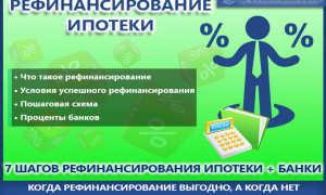 Рефинансирование ипотеки: процедура погашения физическим лицом долга при помощи кредита в другом банке