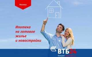 Документы для ипотеки в ВТБ 24: список бумаг, которые нужны для получения кредита